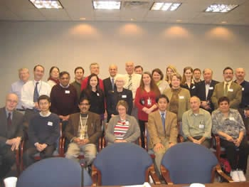 Attendees at NIH Meeting